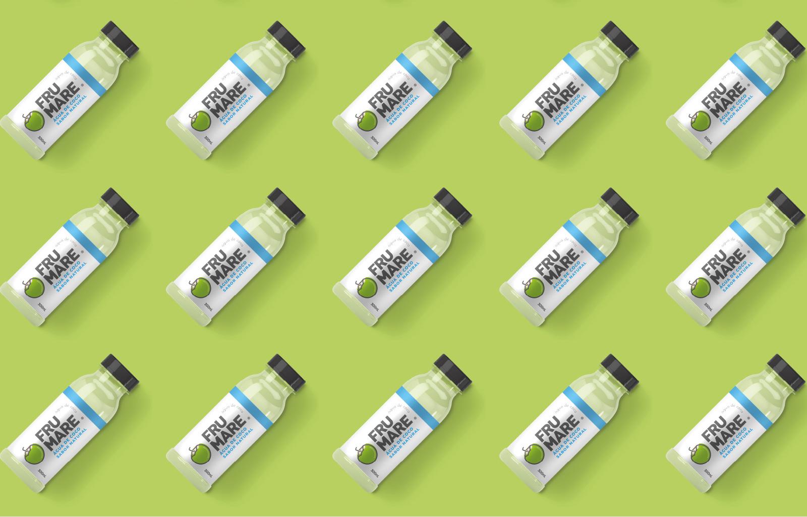 Design de embalagem para Água de Coco