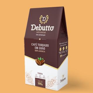 Design de embalagem para café