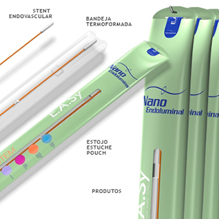 Medical product stent packaging design