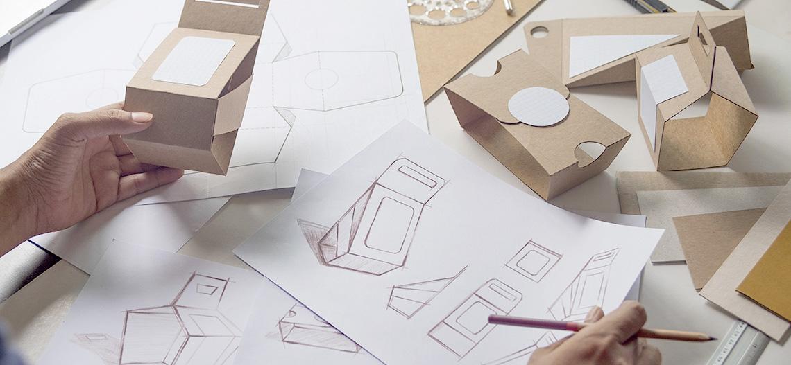 Desenvolvimento de embalagem o3 Design