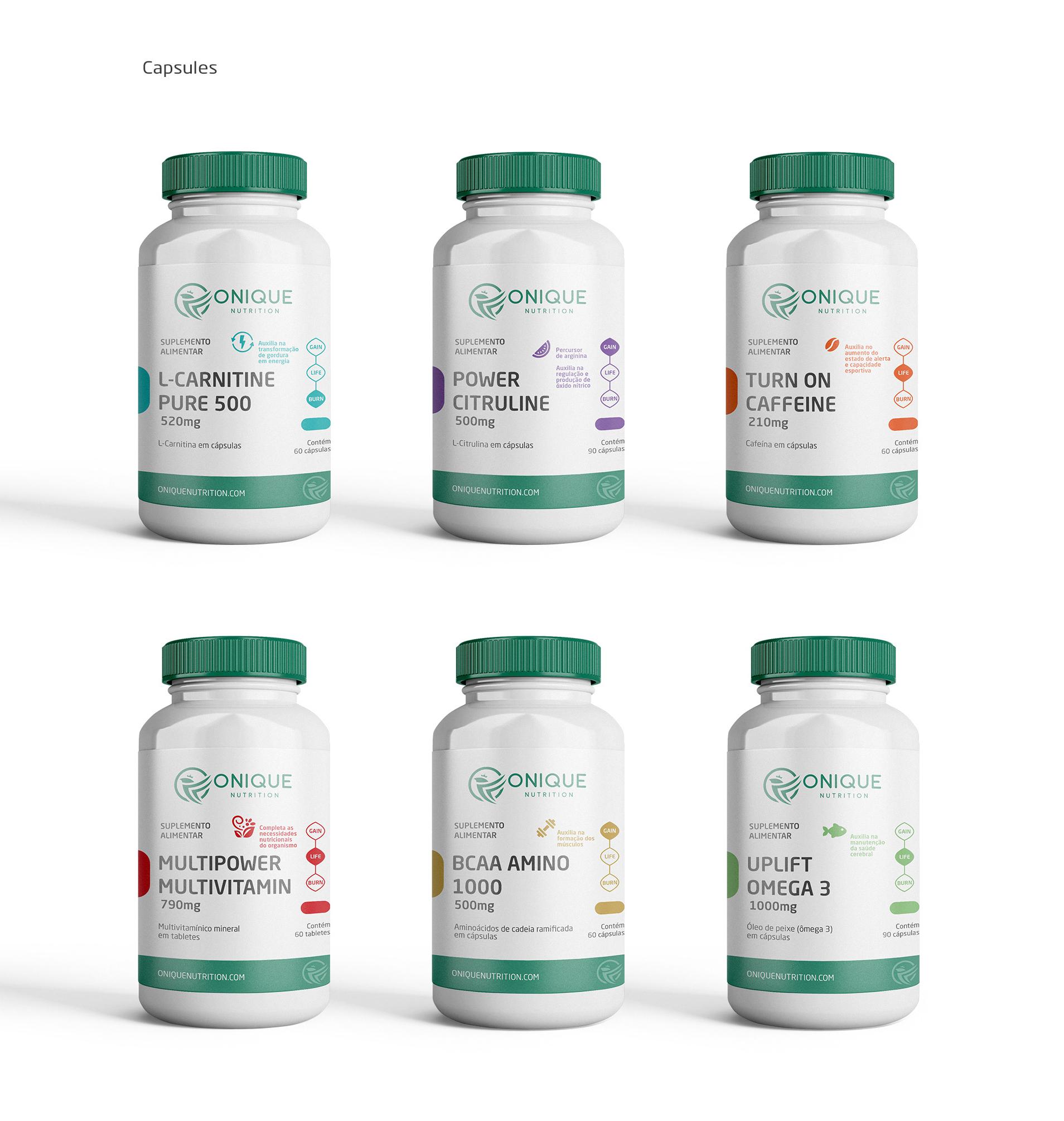 design de embalagens para suplementos