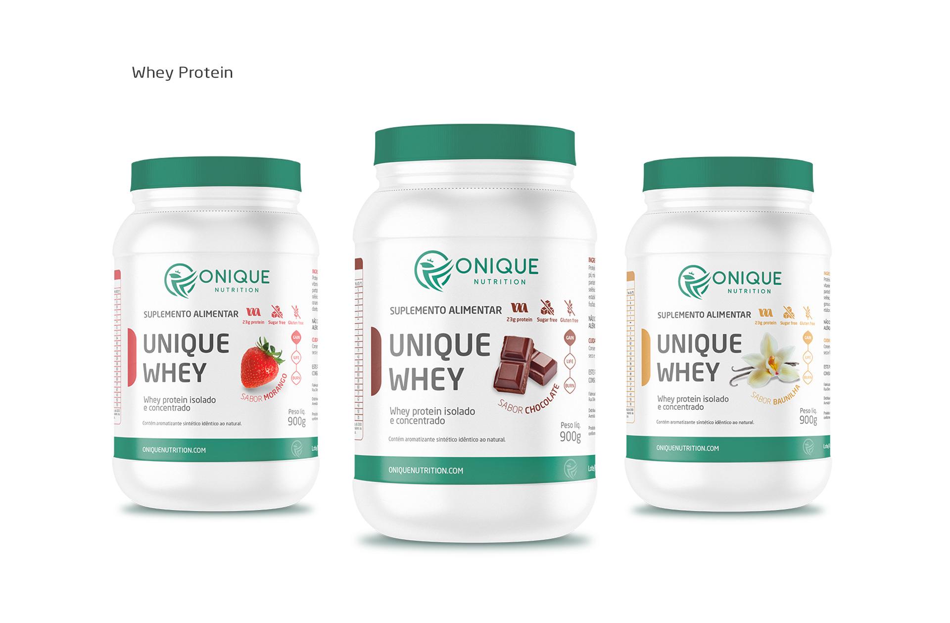 design de embalagens para whey protein