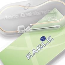 Design da caixa e bandeja para Stent Endovascular EAGLE NANO