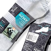 Design de embalagens e gráfico para Meias KENY