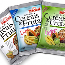 Package for MAC TOST Cereal and Fruit Flakes