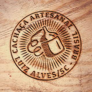 Identidade visual para Associação de Produtores de Cachaça de Luis Alves