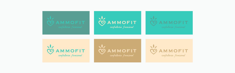Branding logomarcas opcoes de cor