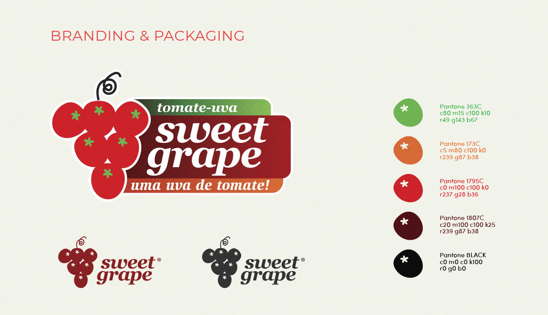 Branding for tomatoe brand