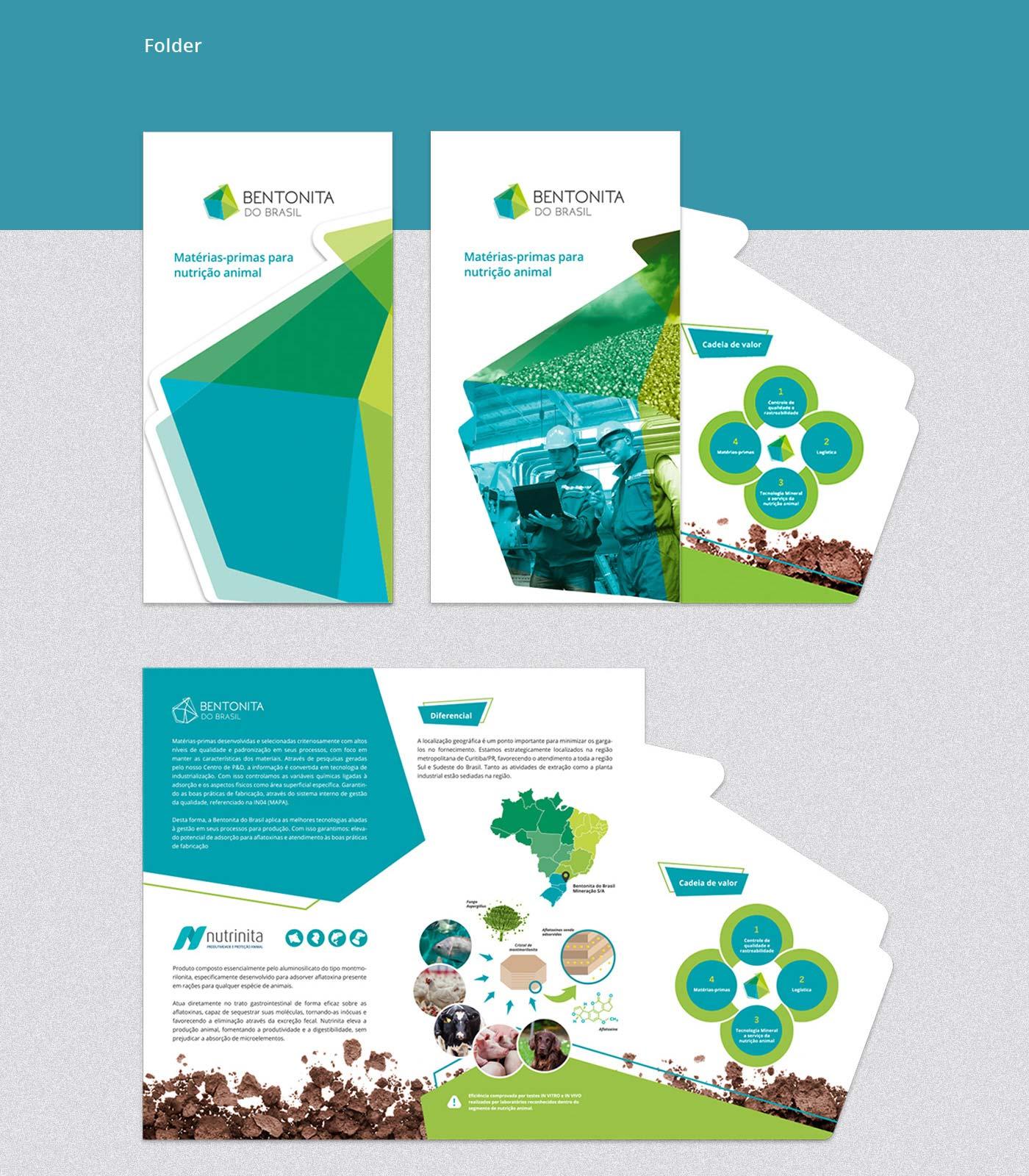 Catálogo para mineradora Bentonita do Brasil