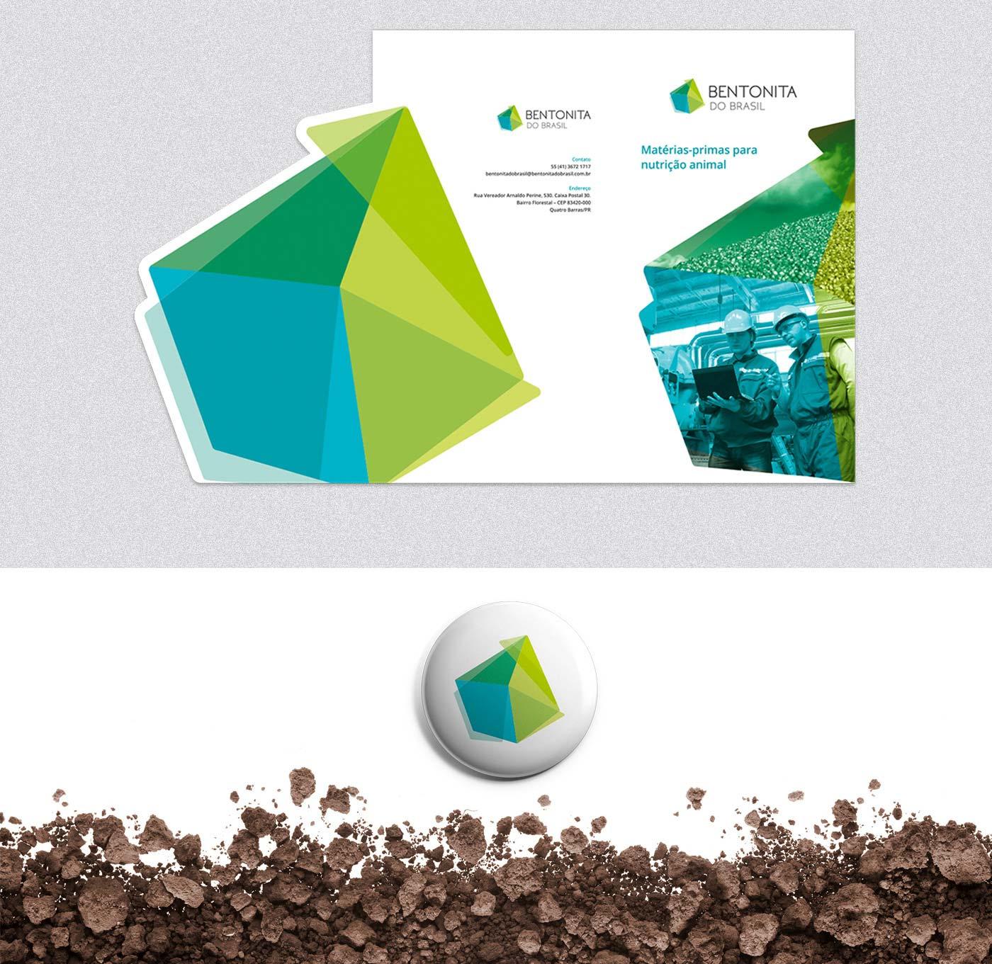 Criação de catálogo para mineradora Bentonita do Brasil