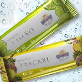 Design de embalagem para Picolés SORVETES COSTEIRA