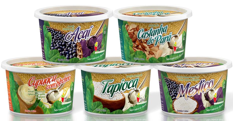 Rótulos para sorvetes TOCARI SORVETES
