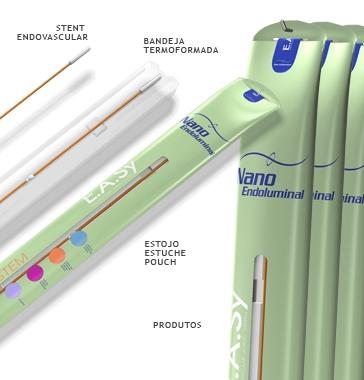 design de embalagem para produto médico