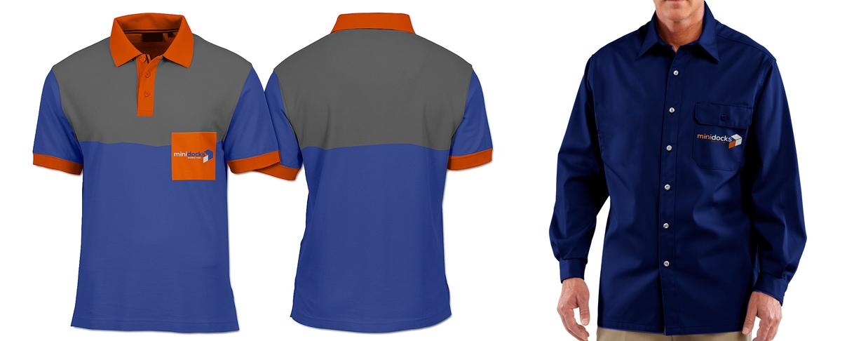 Novo posicionamento da marca Minidocks - uniformes