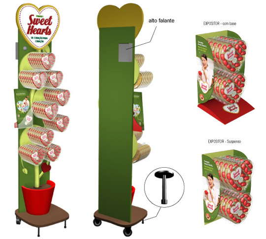 Tomates Sweet Hearts SAKATA NUTRITION - expositores display