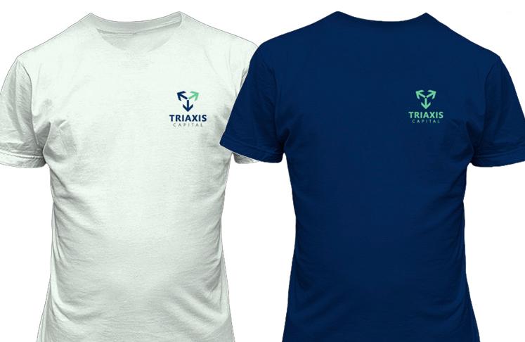 Imagem corporativa TRIAXIS CAPITAL - uniforme