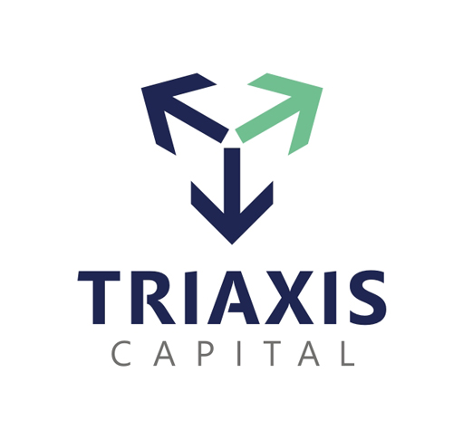 Imagem corporativa TRIAXIS CAPITAL - marca
