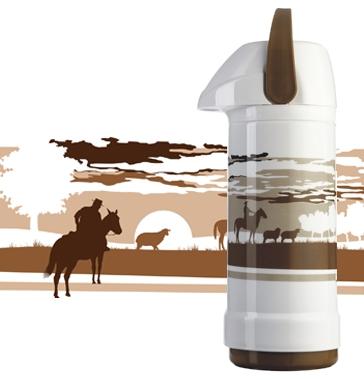 Coleção de garrafas térmicas Invicta - Gourmet 2008 e 2009 e Regional 2008